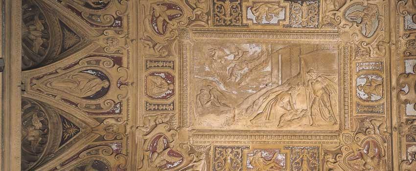 Affreschi e stucchi - Fatti di Prometeo