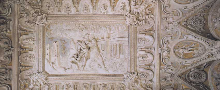 Affreschi e stucchi - Punizione di Prometeo