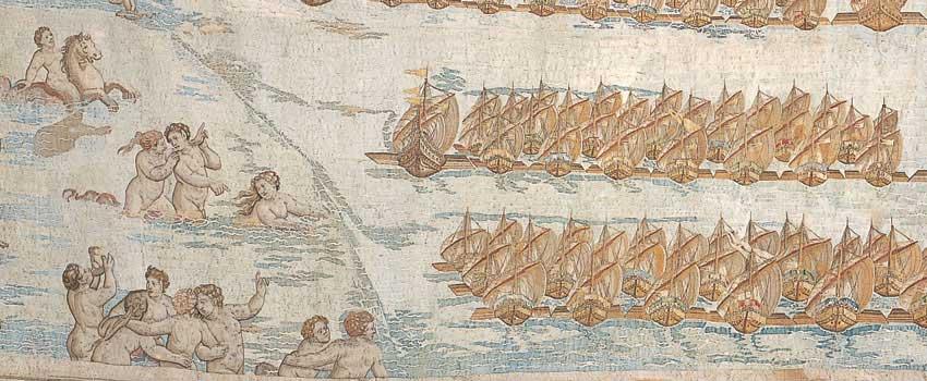 La navigazione lungo le coste calabre (particolare)