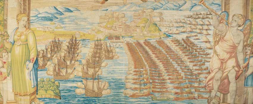Il ritorno a Corfù della flotta