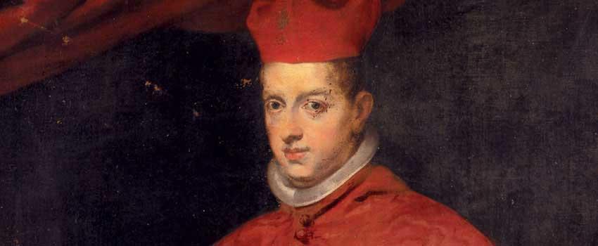 Dipinti - Ritratto del Cardinale infante Ferdinando d'Asburgo