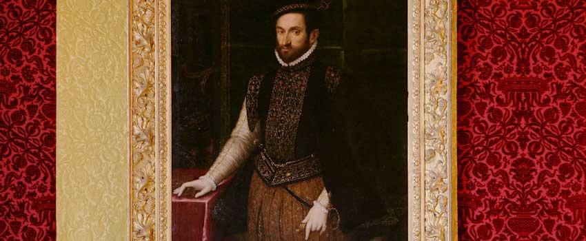 Dipinti - Ritratto di gentiluomo con moneta