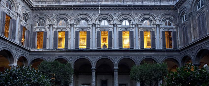 palazzo doria pamphilj galleria museo roma cortile